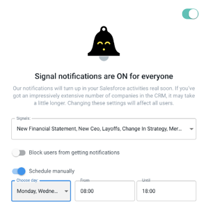 Signal Notifications