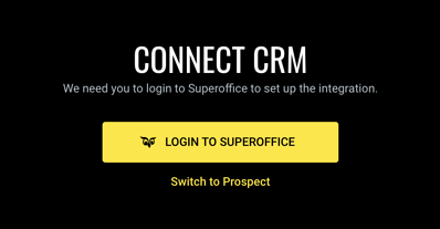 Login to SuperOffice